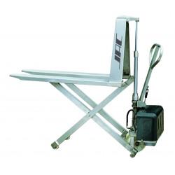 Transpalette électrique haute levée inox 316 CU 1000 kg