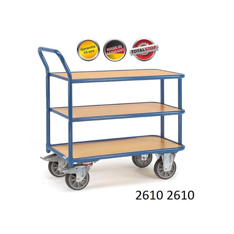 chariots de manutention 3 tag res. Black Bedroom Furniture Sets. Home Design Ideas