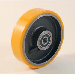 Roue à bandage polyuréthane charge 150 à 4500 Kg (série Z)